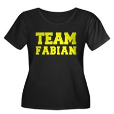 TEAM FABIAN Plus Size T-Shirt