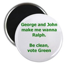 Vote Green Magnet