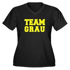 TEAM GRAU Plus Size T-Shirt