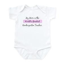 Worlds Greatest Kindergarten  Infant Bodysuit