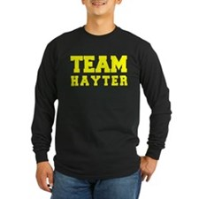 TEAM HAYTER Long Sleeve T-Shirt