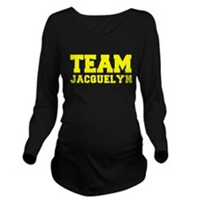 TEAM JACQUELYN Long Sleeve Maternity T-Shirt