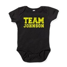 TEAM JOHNSON Baby Bodysuit