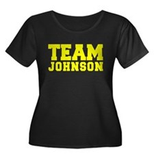 TEAM JOHNSON Plus Size T-Shirt