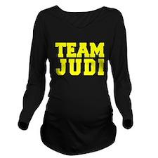 TEAM JUDI Long Sleeve Maternity T-Shirt