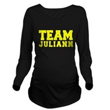 TEAM JULIANN Long Sleeve Maternity T-Shirt