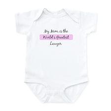 Worlds Greatest Lawyer Infant Bodysuit