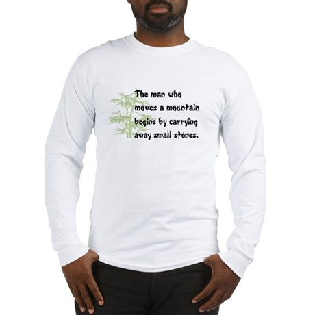 Chinese proverb Long Sleeve T-Shirt