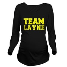 TEAM LAYNE Long Sleeve Maternity T-Shirt