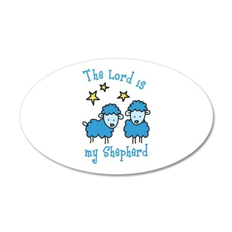 The Lord is my shepherd Wall Decal
