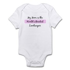 Worlds Greatest Landscaper Infant Bodysuit