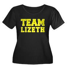 TEAM LIZETH Plus Size T-Shirt
