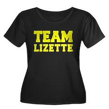 TEAM LIZETTE Plus Size T-Shirt