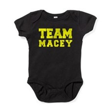 TEAM MACEY Baby Bodysuit