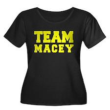 TEAM MACEY Plus Size T-Shirt