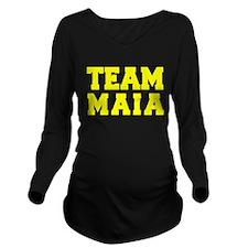 TEAM MAIA Long Sleeve Maternity T-Shirt