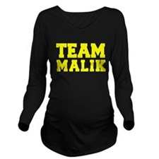 TEAM MALIK Long Sleeve Maternity T-Shirt