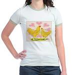 Buff Chantecler Hearts Jr. Ringer T-Shirt