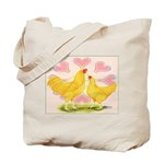 Buff Chantecler Hearts Tote Bag