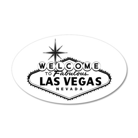 Welcome To Las Vegas Sign Wall Decal