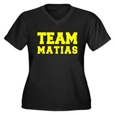 TEAM MATIAS Plus Size T-Shirt