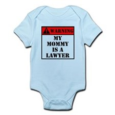 Warning My Mommy Is A Lawyer Body Suit