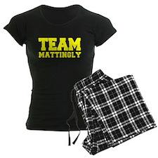 TEAM MATTINGLY Pajamas