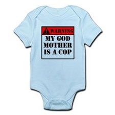 Warning My Godmother Is A Cop Body Suit