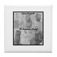 Living Gargoyle Design Tile Coaster