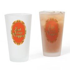 Eat Your Vegetables Drinking Glass