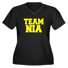TEAM NIA Plus Size T-Shirt