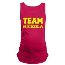 TEAM NICKOLA Maternity Tank Top