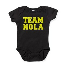 TEAM NOLA Baby Bodysuit