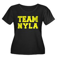TEAM NYLA Plus Size T-Shirt