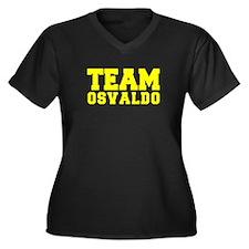 TEAM OSVALDO Plus Size T-Shirt