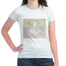 vintage chandelier modern fashion artistic T-Shirt