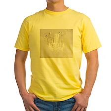 vintage chandelier modern fashion artistic T-Shirt
