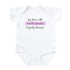 Worlds Greatest Property Mana Infant Bodysuit