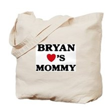 Bryan loves mommy Tote Bag