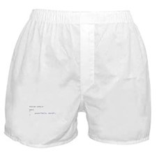 Hello, World Boxer Shorts