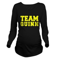 TEAM QUINN Long Sleeve Maternity T-Shirt