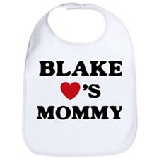 Blake loves mommy Bib