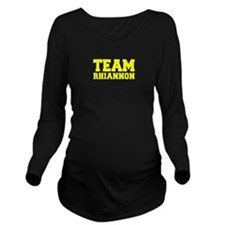 TEAM RHIANNON Long Sleeve Maternity T-Shirt