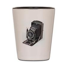 Vintage Camera Shot Glass