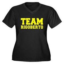 TEAM RIGOBERTO Plus Size T-Shirt