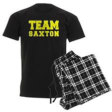 TEAM SAXTON Pajamas