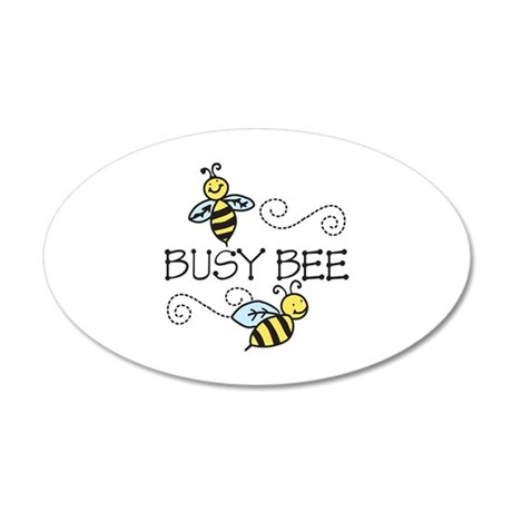 Busy Bees Wall Decal