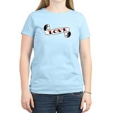 love tattoo scroll T-Shirt