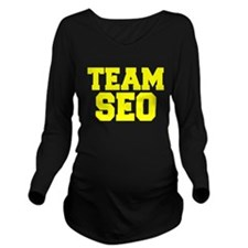 TEAM SEO Long Sleeve Maternity T-Shirt