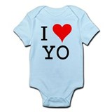 I Love YO Infant Bodysuit